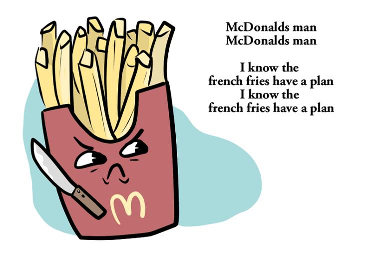 Kanye West escribe un poema para Mcdonalds 3