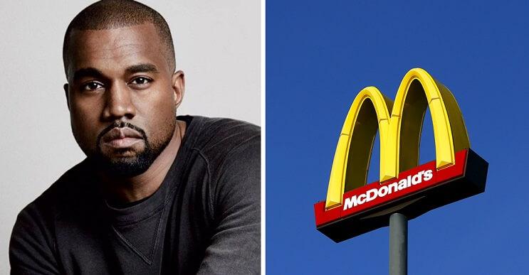 Kanye West escribe un poema para McDonalds