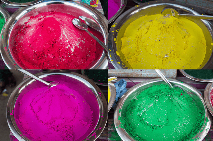 La belleza de la India durante el festival Holi 03