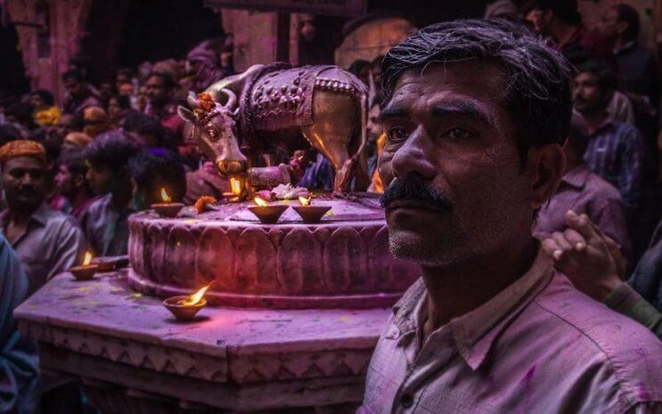La belleza de la India durante el festival Holi 05