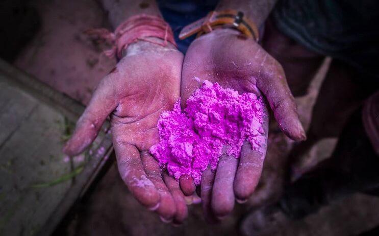 La belleza de la India durante el festival Holi 07