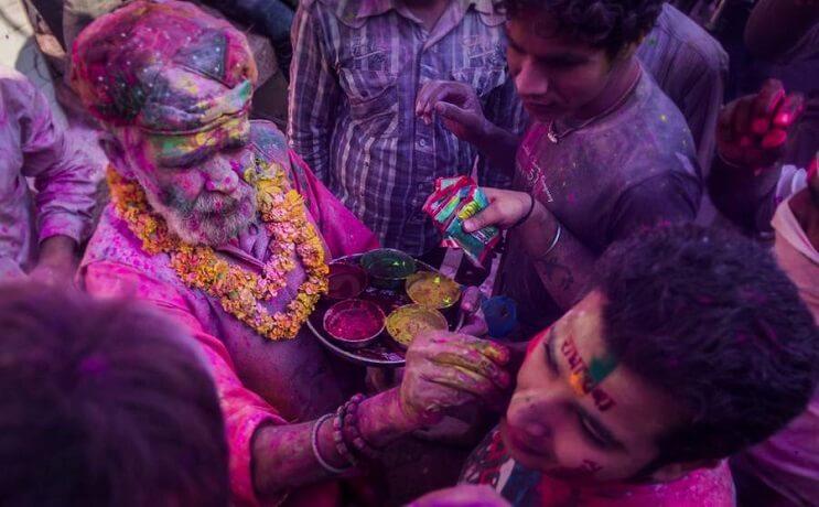 La belleza de la India durante el festival Holi 11