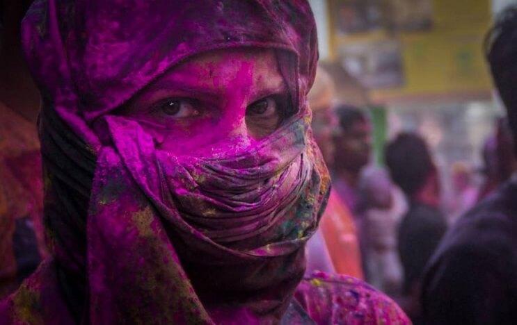 La belleza de la India durante el festival Holi 12