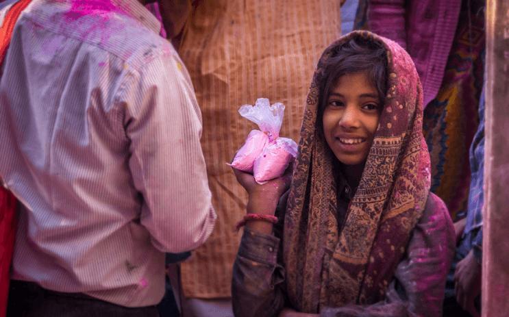 La belleza de la India durante el festival Holi 14