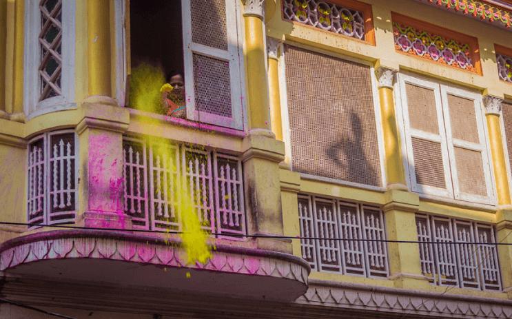 La belleza de la India durante el festival Holi 15
