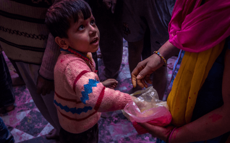 La belleza de la India durante el festival de Holi 18