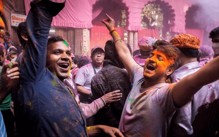 La belleza de la India durante el festival de Holi 19