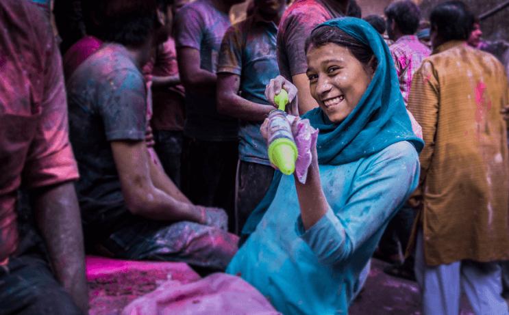 La belleza de la India durante el festival de Holi 20