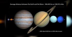 Esta comparación entre planetas y estrellas te hará sentir muy pequeño