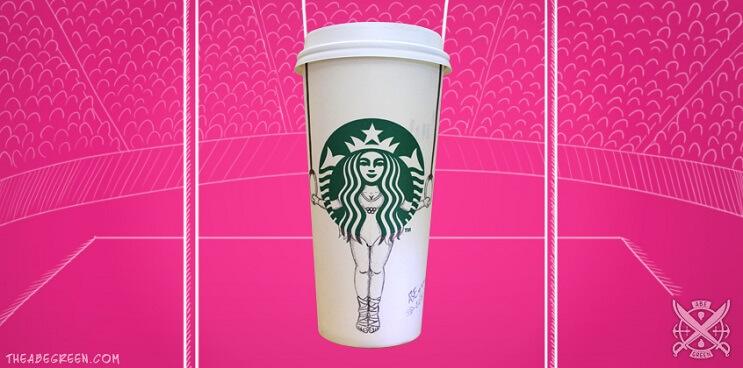 La vida secreta de la sirena de Starbucks gimnasia