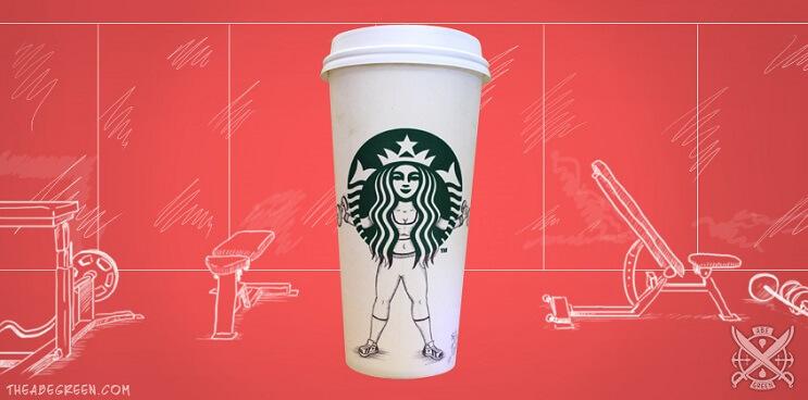 La vida secreta de la sirena de Starbucks gimnasio 2