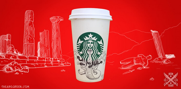 La vida secreta de la sirena de Starbucks medusa