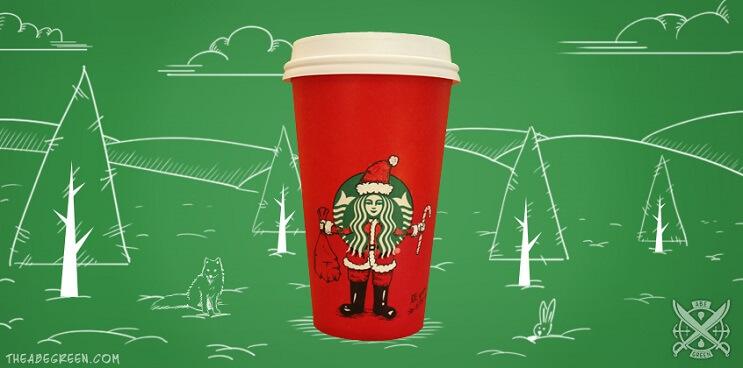 La vida secreta de la sirena de Starbucks santa