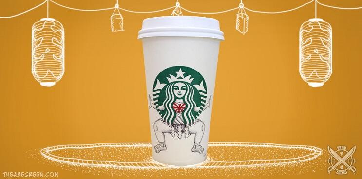 La vida secreta de la sirena de Starbucks sumo