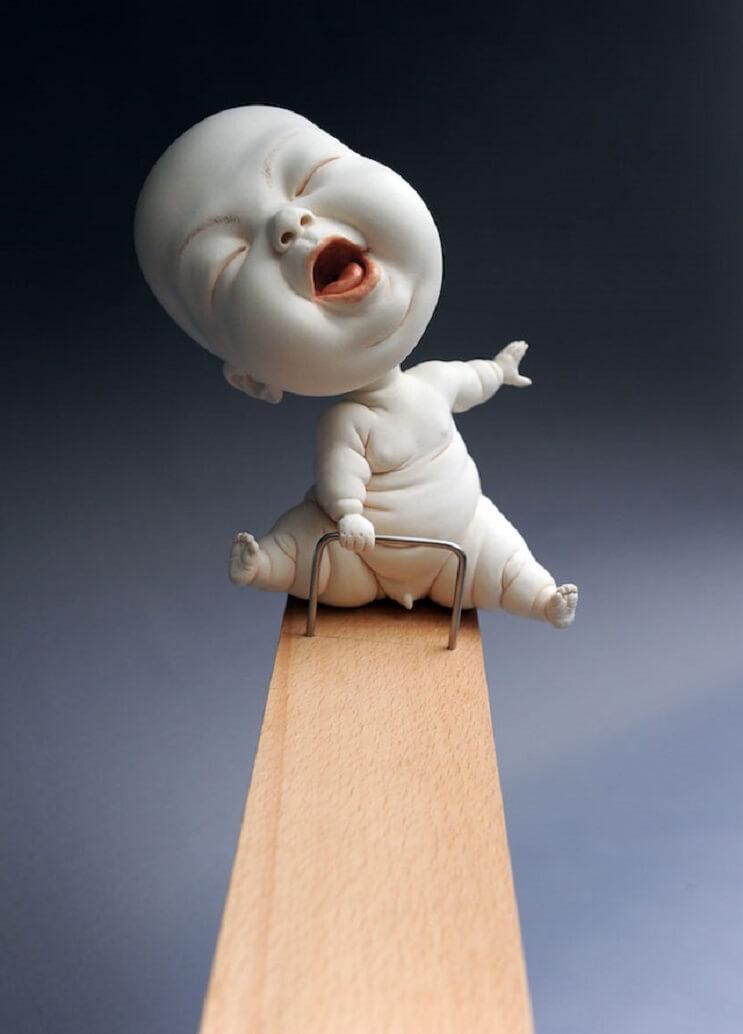 Las extrañas esculturas de cerámica de Johnson Tsang 2