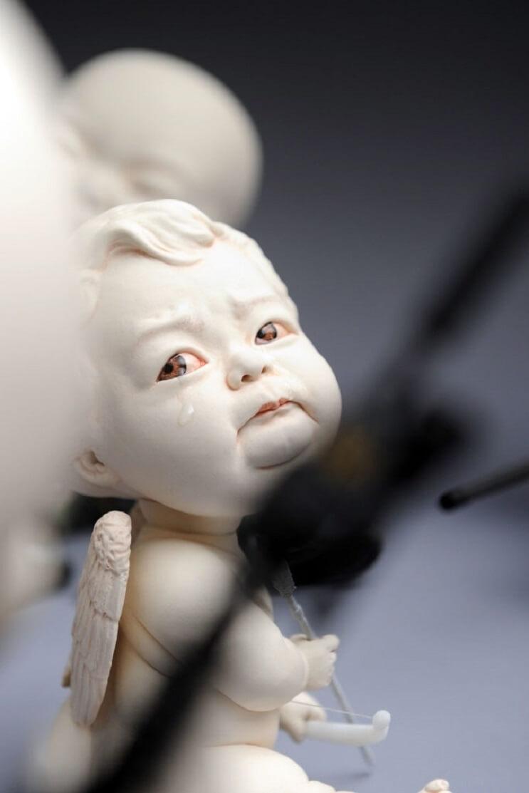 Las extrañas esculturas de cerámica de Johnson Tsang 7