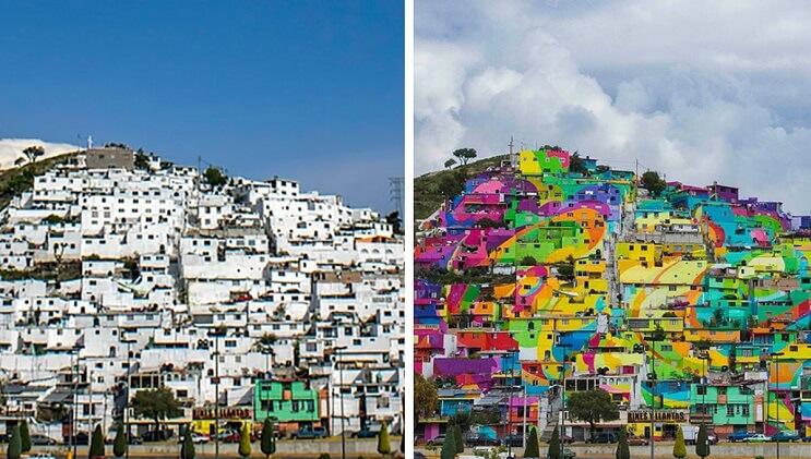 Lo que sucedió en este barrio es la prueba de que el arte vence a la delincuencia 1
