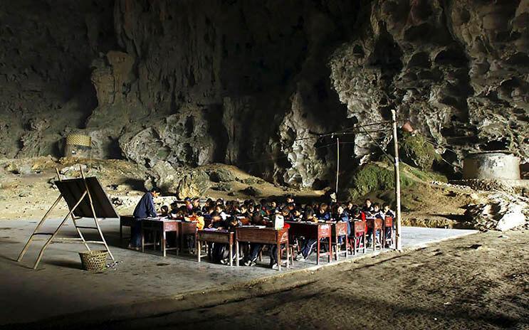Los aldeanos de esta cueva se niegan a dejar su hogar 3