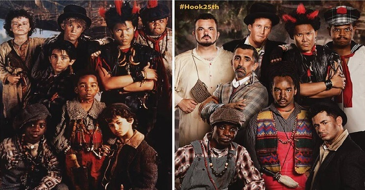 Los niños perdidos de Hook se reúnen luego de 25 años
