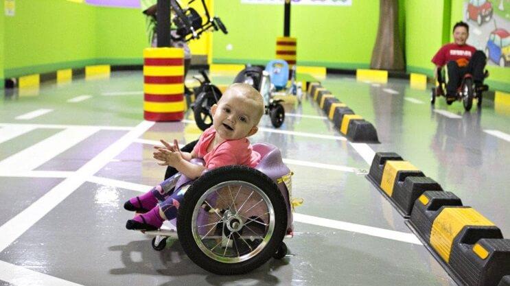 Mama hija silla de ruedas Canada