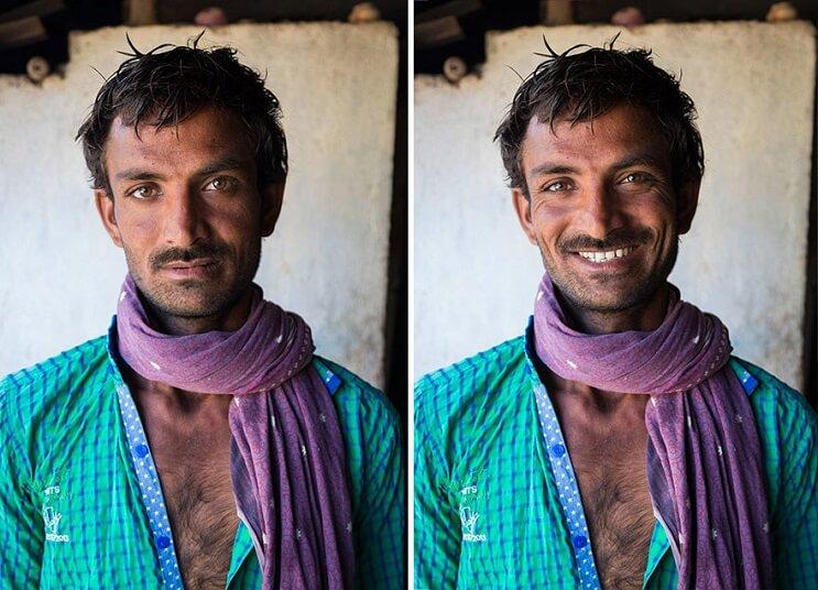 Poderosas fotografías que muestran la importancia de una sonrisa 1