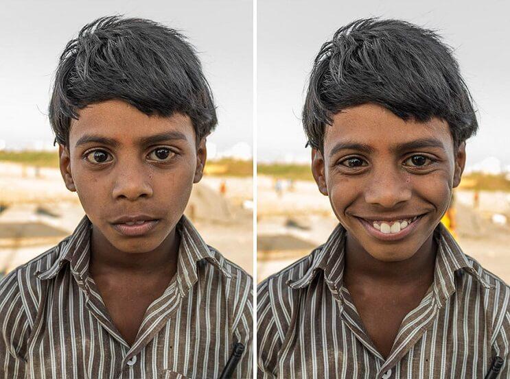 Poderosas fotografías que muestran la importancia de una sonrisa 6