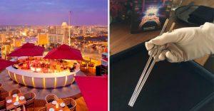 Podrás llevarte unos palillos chinos con diamantes luego de pagar una cena de US$ 2 millones