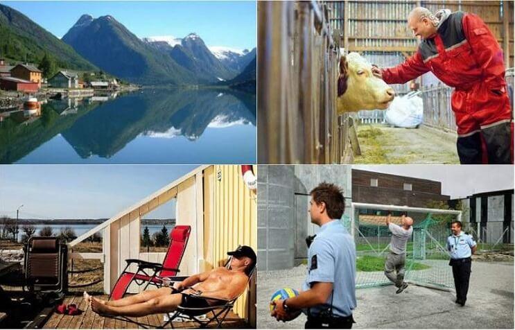 Prisión Bastoy, Noruega.
