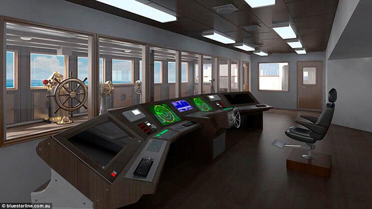 Se estima que la réplica del Titanic zarpará el 2018 10