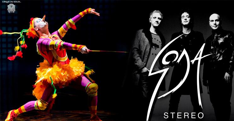 Soda Stereo regresa con Cirque du Soleil