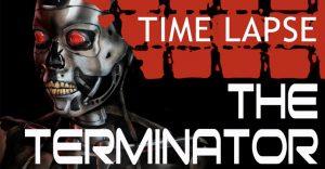 Talentosa artista del body painting se transformó en un T-800 de Terminator