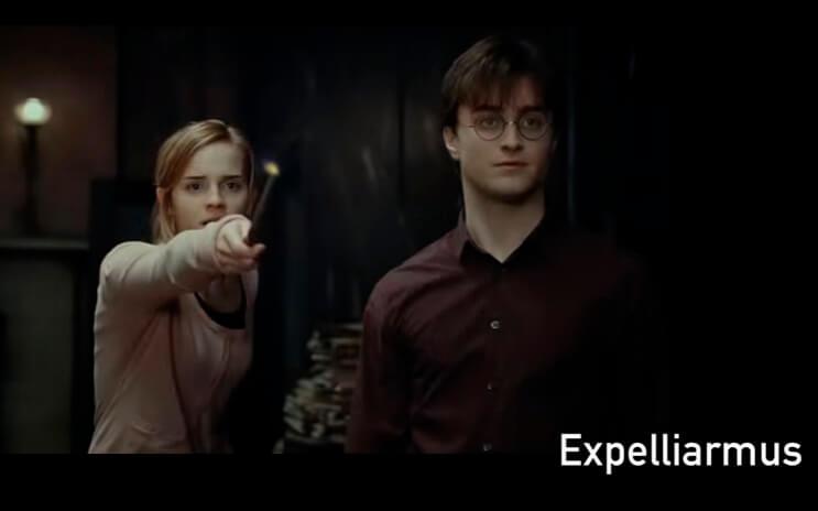 Todos los hechizos de Harry Potter en un solo video y en orden alfabético 1