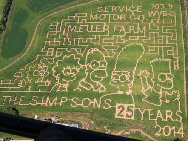 Una granja de Nueva York rinde homenaje a Mario Bros con un enorme laberinto 03