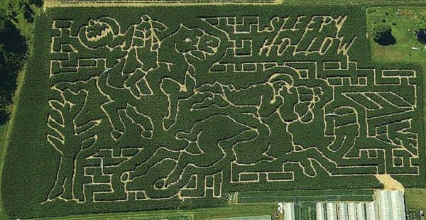 Una granja de Nueva York rinde homenaje a Mario Bros con un enorme laberinto 05