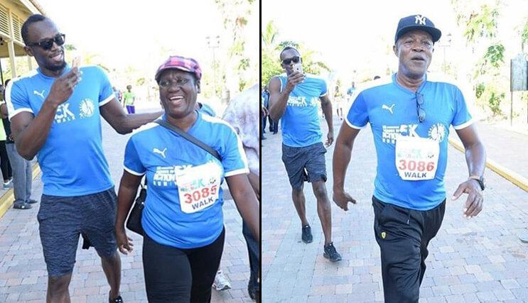 Usain Bolt padres 1