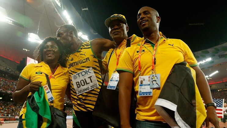 Usain Bolt padres Juegos Olimpicos