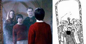 J.K. Rowling comparte los bocetos originales para Harry Potter en la página Pottermore