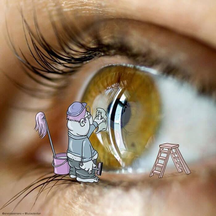 limpieza ojos
