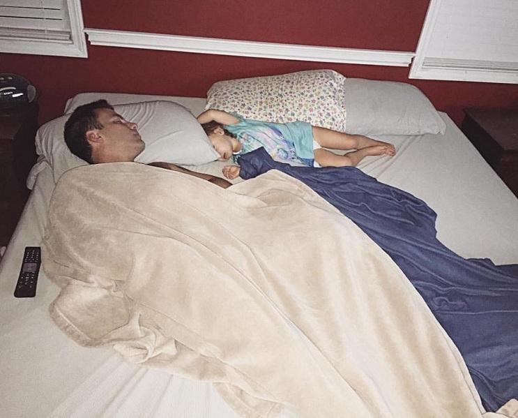 papá durmiendo