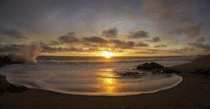 El majestuoso mar y sus atardeceres en fotografías por Samuel Jones