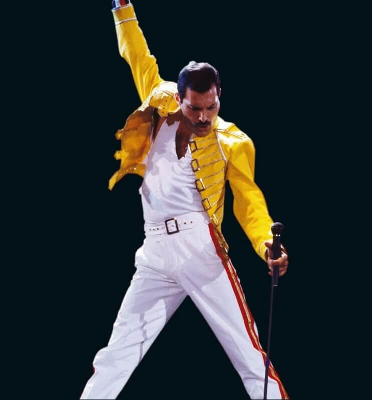 70 años del nacimiento de Freddie Mercury con una gran ilustración de una exitosa canción 02