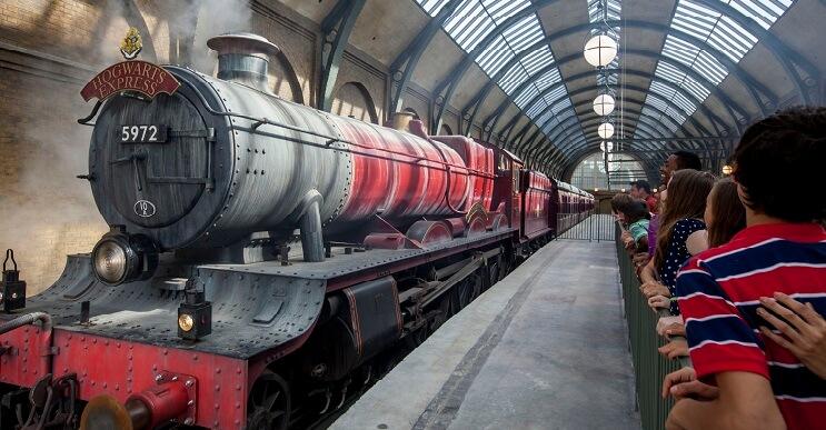 Ahora se puede llegar al Festival Anual de Harry Potter a bordo del Hogwarts Express