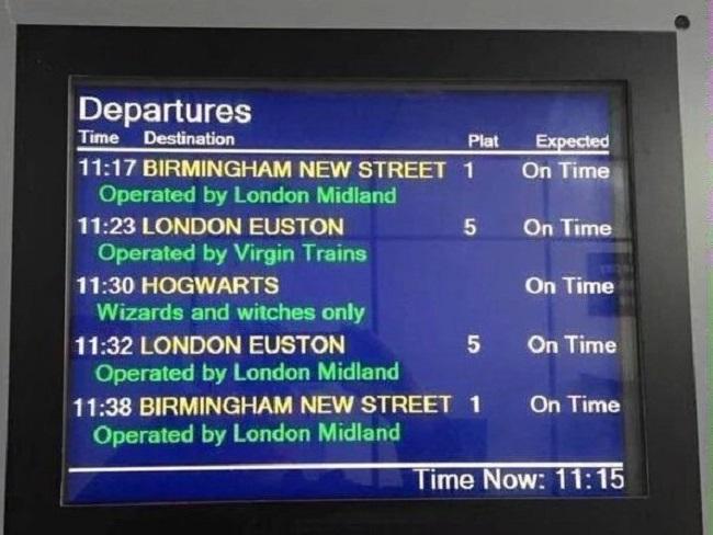 Ahora se puede llegar al Festival Anual de Harry Potter a bordo del Hogwarts Express tren