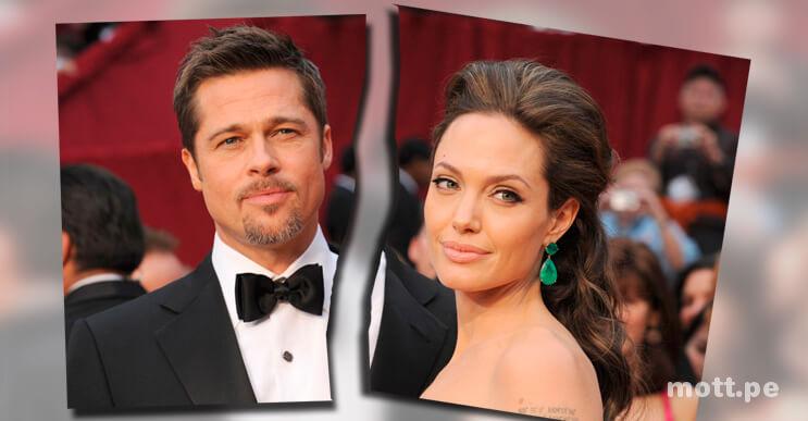 """Angelina Jolie le pide el divorcio a Brad Pitt por """"diferencias irreconciliables"""""""