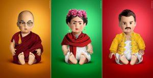 Artista italiano hace la recreación de ídolos contemporáneos en muñecos