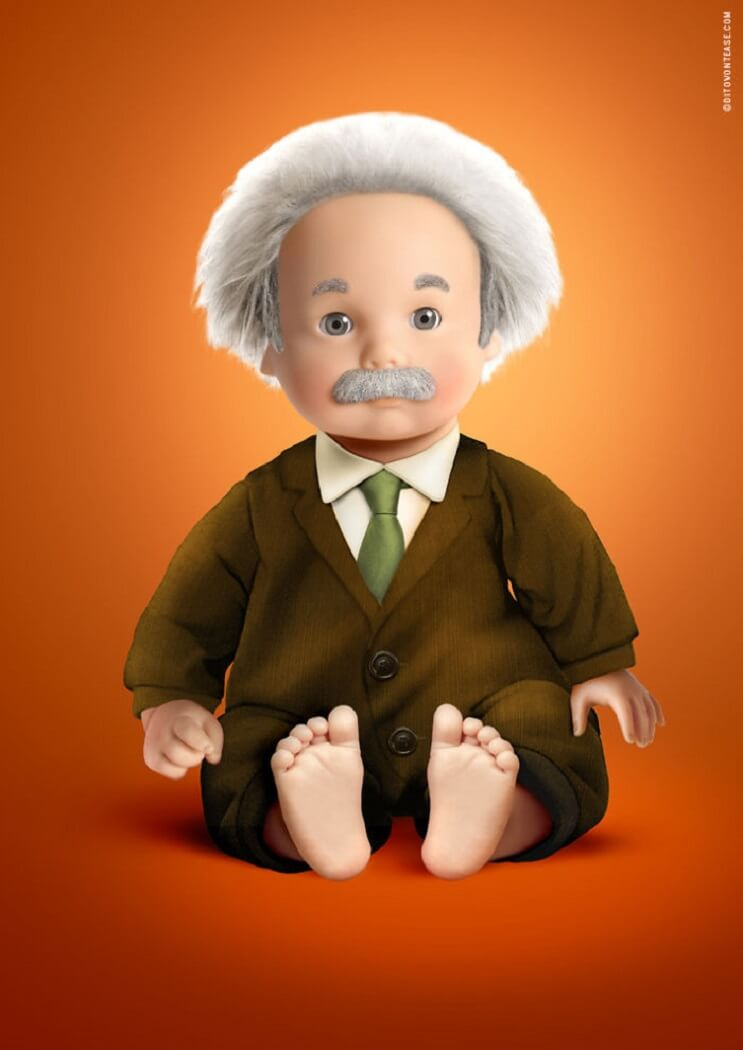artista-italiano-hace-la-recreacion-de-idolos-contemporaneos-en-munecos-albert-einstein
