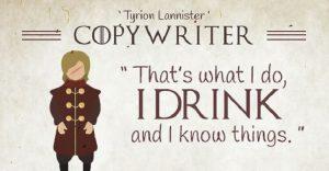 Si los personajes de Game of Thrones trabajaran en una agencia publicitaria