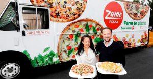 Con este vehículo las pizzas llegarán recién salidas del horno