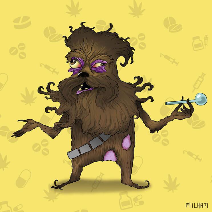 Cuando los dibujos animados se meten en el mundo de las drogas 7