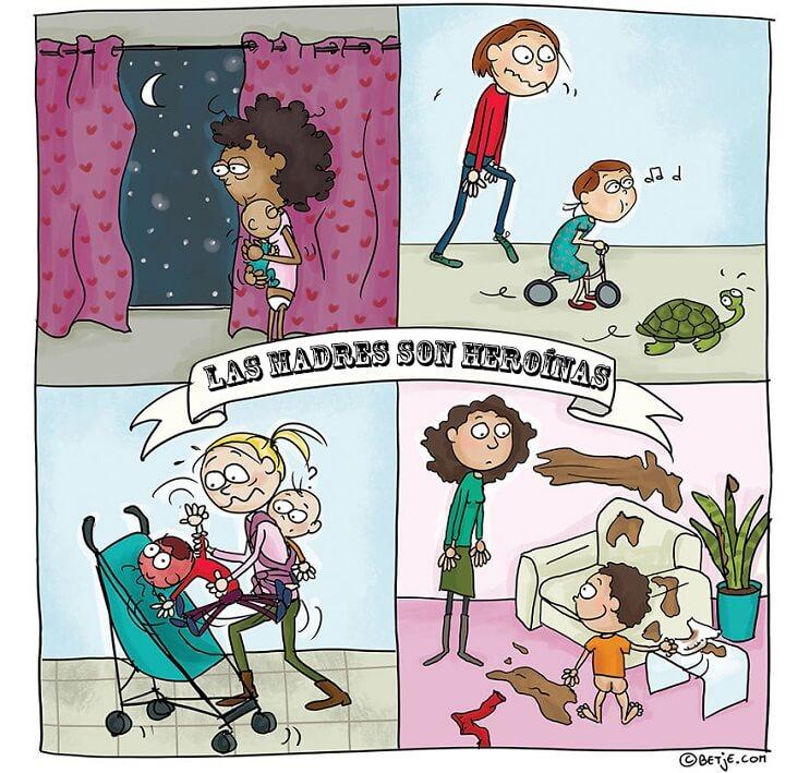 divertidos-comics-que-nos-muestran-los-goces-de-la-maternidad-heroinas